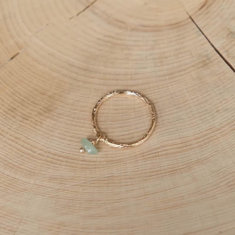 Sixtine Ring - Aventurine Green