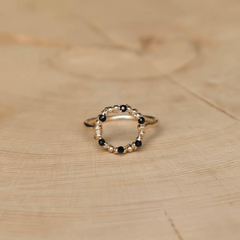 Orphée Ring - Black