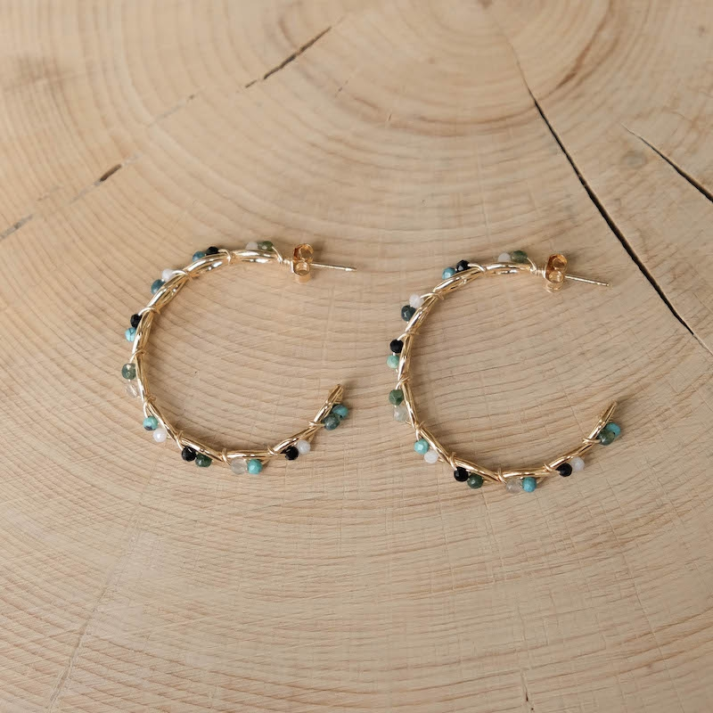 Marion Earrings - Turquoise
