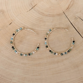 Valéria Earrings - Turquoise