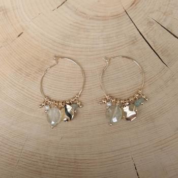 Poppy Earrings - Water Green