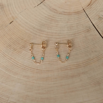 Cécilia Earrings - Turquoise